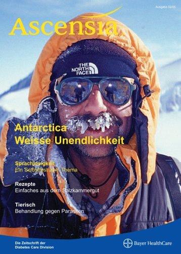 Antarctica Weisse Unendlichkeit Sprachlosigkeit - Bayer-Diabetes ...