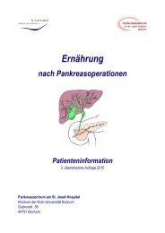 Ernährung - Arbeitskreis der Pankreatektomierten e.V.