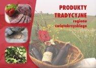 Produkty tradycyjne regionu świętokrzyskiego - KSOW
