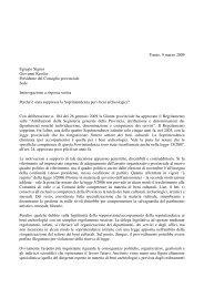Leggi interrogazione - Roberto Bombarda