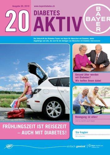 Frühlingszeit ist reisezeit - Bayer Diabetes Care Schweiz