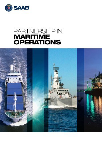 Partnership in maritime operations [pdf] - Saab
