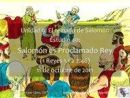 1 Reyes - Iglesia Biblica Bautista de Aguadilla, Puerto Rico