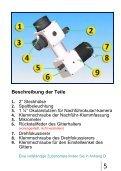 DADOS Spektrograph Gebrauchsanleitung - Baader-Planetarium ... - Page 5