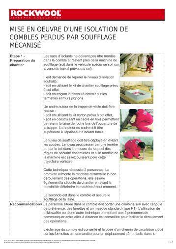 isolation m canis e des combles perdus jetrock 005 point p. Black Bedroom Furniture Sets. Home Design Ideas