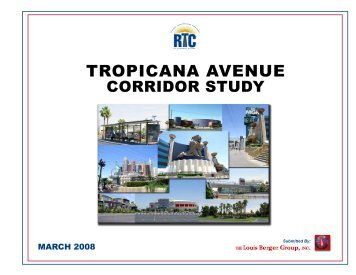 Tropicana Avenue Corridor Study (2008) - Regional Transportation ...