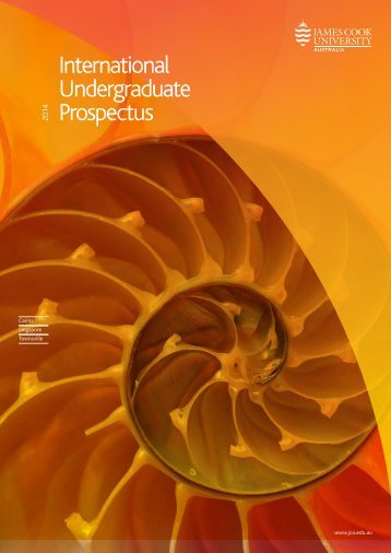 International Undergraduate Prospectus - James Cook University