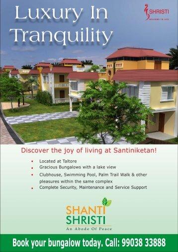 Download Shanti Shristi Brochure - shristihousing.com