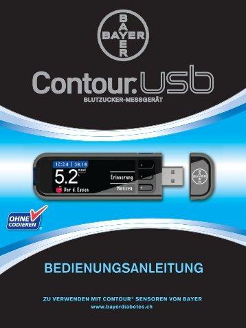 BEDIENUNGSANLEITUNG ... - Bayer Diabetes Care Schweiz