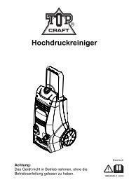 2010 Hochdruckreiniger TopCraft - cleanerworld GmbH