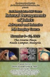 Internal Derangements of Joints: The Crowne Plaza Kuala Lumpur ...