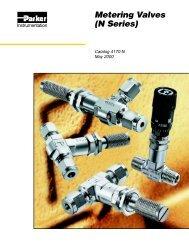 Metering Valves (N Series) - regula servis