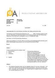 bijlage 2 - Productschap Akkerbouw