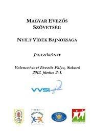 Letöltés - Magyar Evezős Szövetség