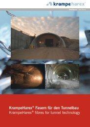 KrampeHarex® Fasern für den Tunnelbau KrampeHarex® fibres for ...