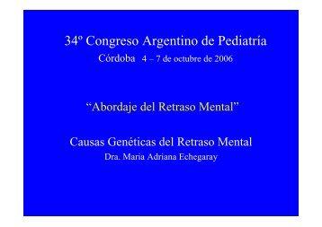 34º Congreso Argentino de Pediatría