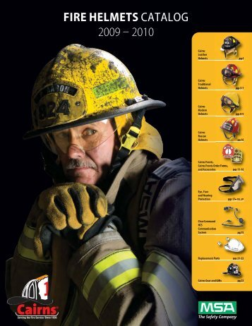 fire helmets catalog 2009 – 2010 - 5 Alarm Fire and Safety Equipment