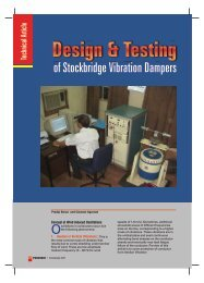 Design & Testing - Industrial Products