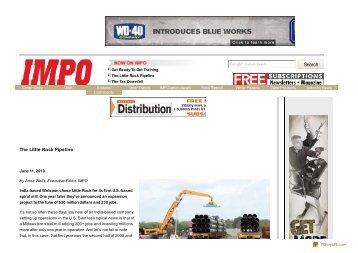 The Little Rock Pipeline - Industrial Maintenance & Plant ... - Welspun