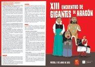 gigantes diptico - Ayuntamiento de Huesca