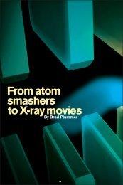 From atom smashers to X-ray movies - Symmetry magazine
