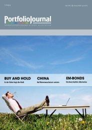 Buy and Hold CHina EM-Bonds - PortfolioJournal