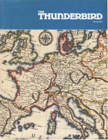 Spring 1979 issue - Thunderbird Magazine
