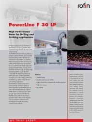 PowerLine F 30 LP - Rofin