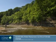 Sustainable Water Resources in an Era of Climate Change