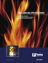 fire labeling specifications - Fleming