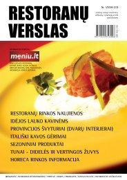 Restoranų verslas 2008/1