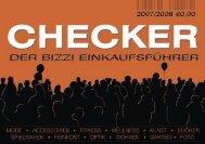 Leernummer CHECKER 07.indd - Bizz! Das Magazin