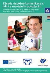 Zásady úspěšné komunikace s lidmi s mentálním ... - Inclusion Europe