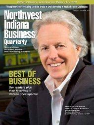 best of business - Northwest Indiana Business Quarterly Magazine
