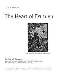 The Heart of Damien - Mondoy Music