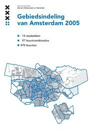 Gebiedsindeling van Amsterdam 2005 - Onderzoek en Statistiek ...