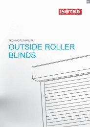 OUTSIDE ROLLER BLINDS - Isotra