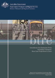 PDF: 6597 KB - Bureau of Infrastructure, Transport and Regional ...