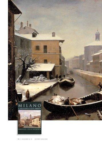 Milano il volto della città perduta - UBI Banca