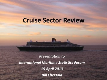 Overview and Trends in Global Cruise Industry - IMSF