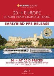2014 EUROPE - Scenic Tours
