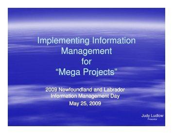Mega Projects - Verney Conference Management