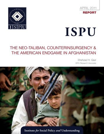 The Neo-TalibaN, CouNTeriNsurgeNCy & The ameriCaN eNdgame ...