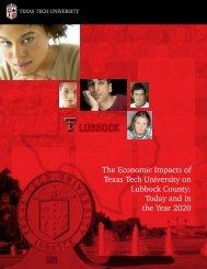 Economic Impact - Texas Tech University