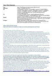 Offener Brief an die CDU Voerde! - Webdesign-bergmann.de