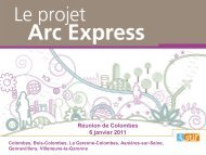 Station Colombes - Arc Express