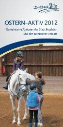 OSTERN-AKTIV 2012 - Stadt Butzbach