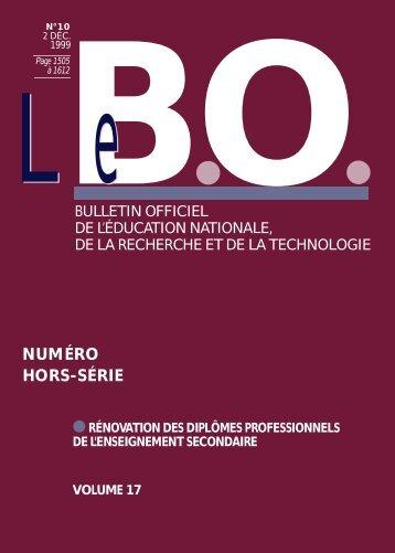 Annexe - Ministère de l'Éducation nationale