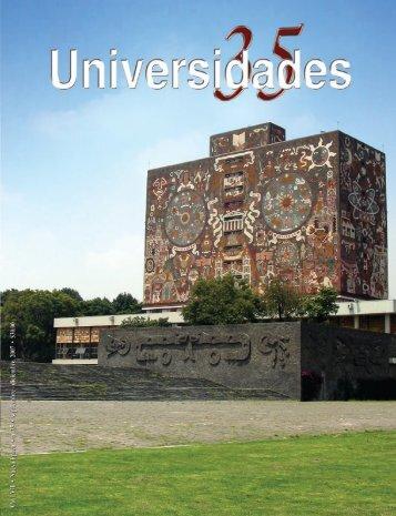 Revista Universidades Número 35, Septiembre - Diciembre ... - udual
