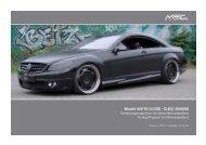 W216 Preisliste Herunterladen - MEC DESIGN